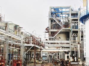 """广东(东曹)22万吨/年PVC工程聚合装置 图1 荣获""""中国化学工业优质工程奖"""""""