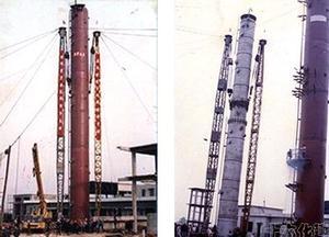 山东海化100万吨重油综合利用制氢项目吊装 图3